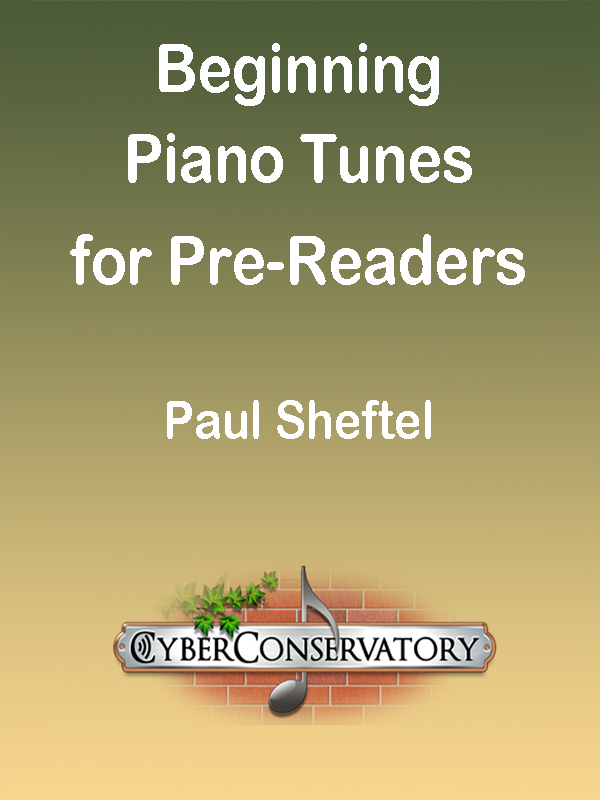 Beginning Piano Tunes for Pre-Readers Cover