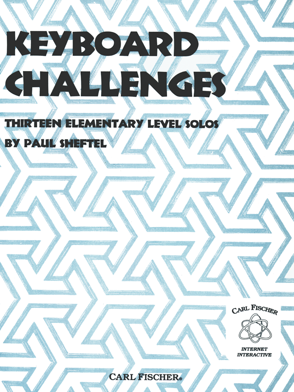 Keyboard Challenges by Paul Sheftel-Cover