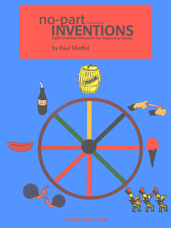 No Part Inventions by Paul Sheftel-Cover