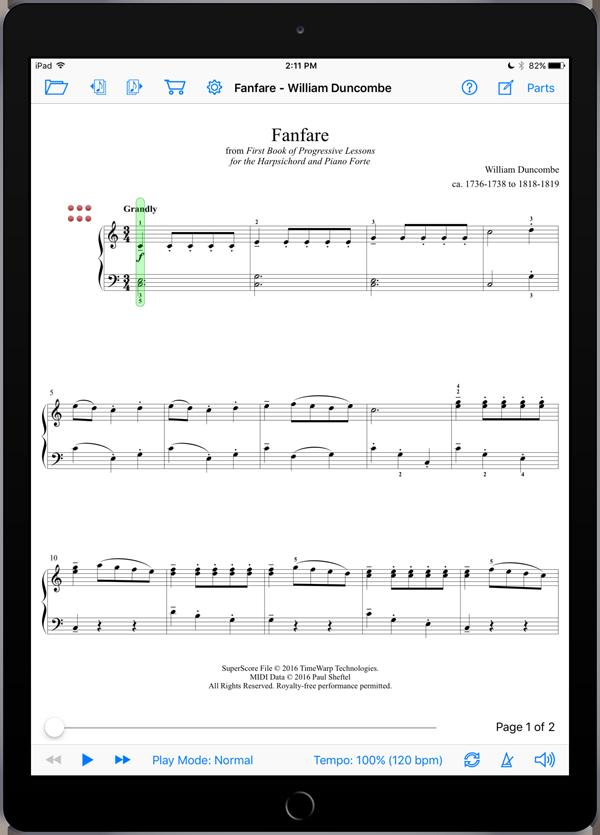 Classics Outside the Box Level 2  Super Score Sample