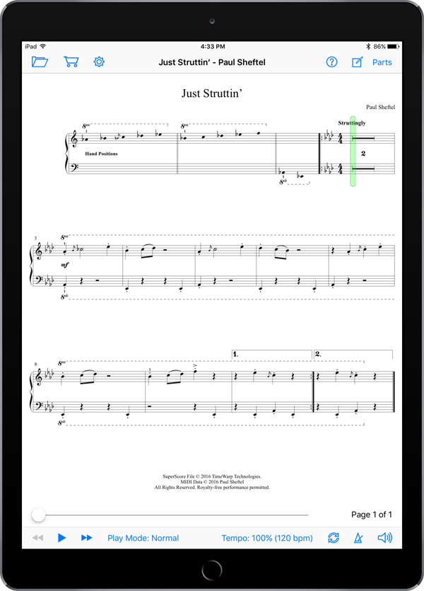 Duet Yourself by Paul Sheftel  Super Score Sample