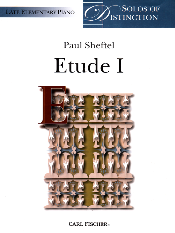 Etude 1 by Paul Sheftel-Cover