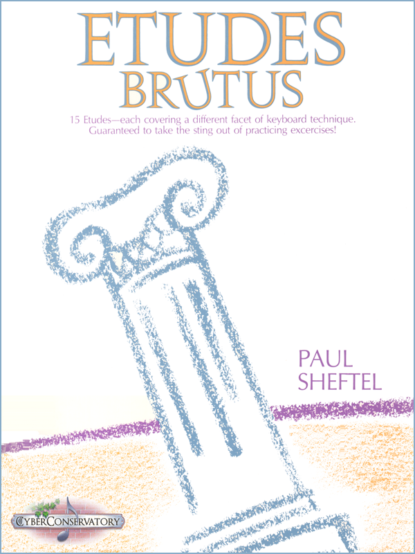 Etudes Brutus by Paul Sheftel-Cover