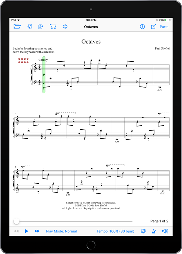 Etudes Brutus by Paul Sheftel  Super Score Sample