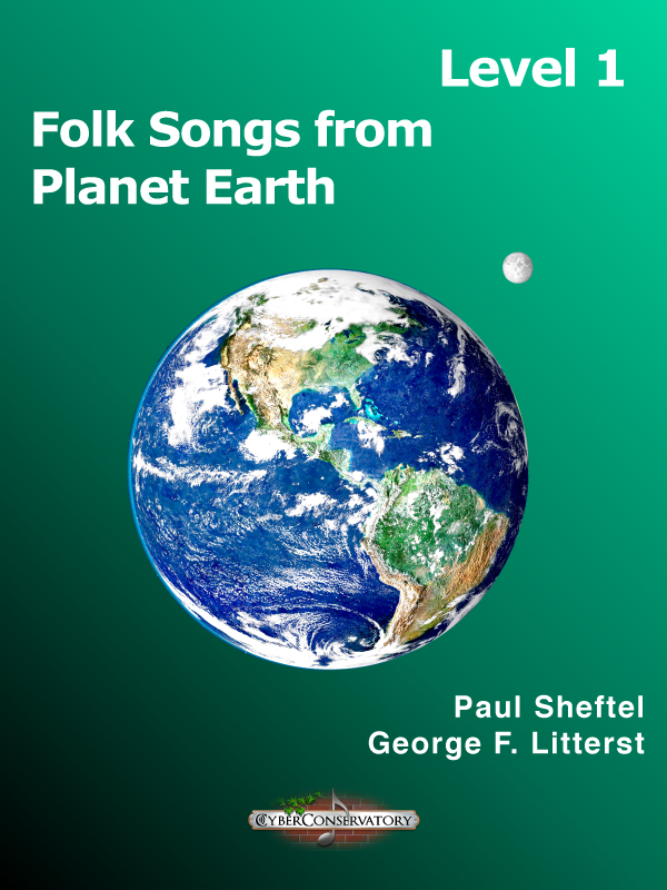 Folk Songs from Planet Earth Level 1-Cover