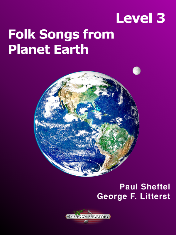 Folk Songs from Planet Earth Level 3-Cover