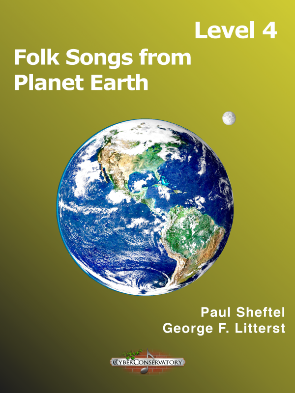 Folk Songs from Planet Earth Level 4-Cover