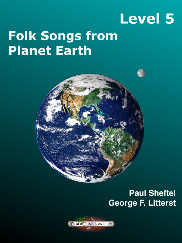 Folk Songs from Planet Earth Level 5-Cover