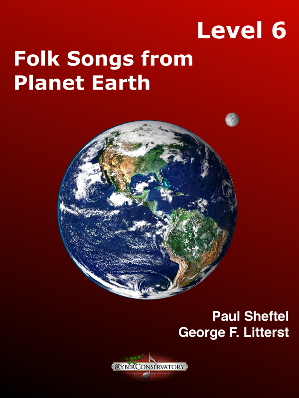 Folk Songs from Planet Earth Level 6-Cover