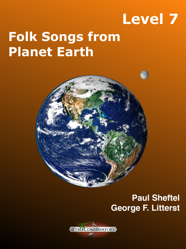 Folk Songs from Planet Earth Level 7-Cover