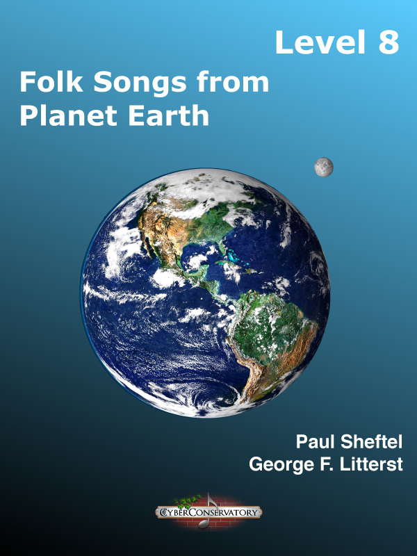 Folk Songs from Planet Earth Level 8-Cover