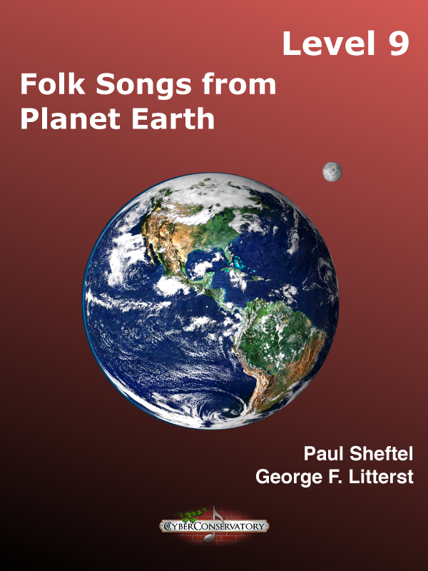 Folk Songs from Planet Earth Level 9-Cover