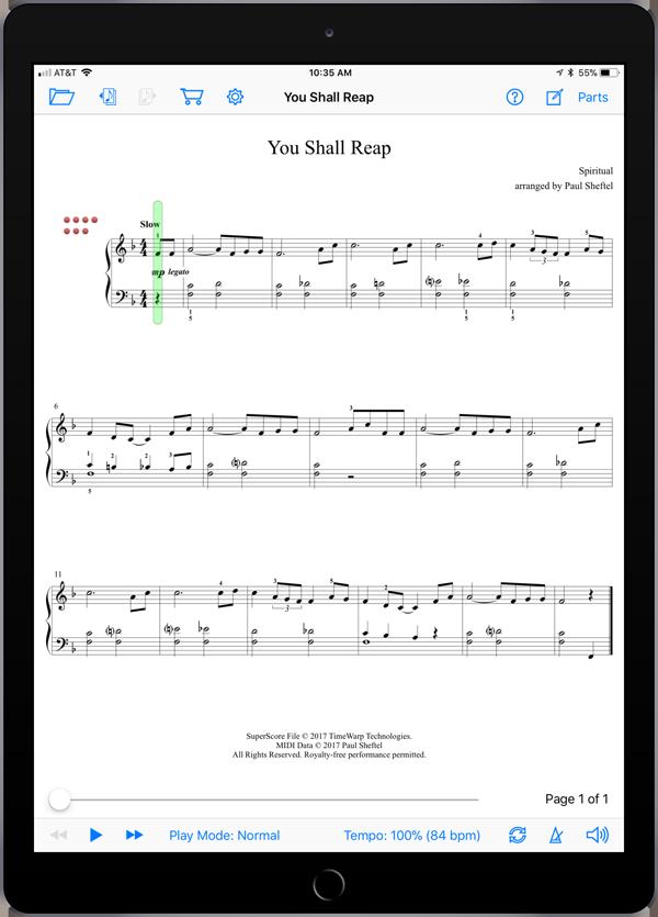 Folk Songs from Planet Earth Level 9  Super Score Sample