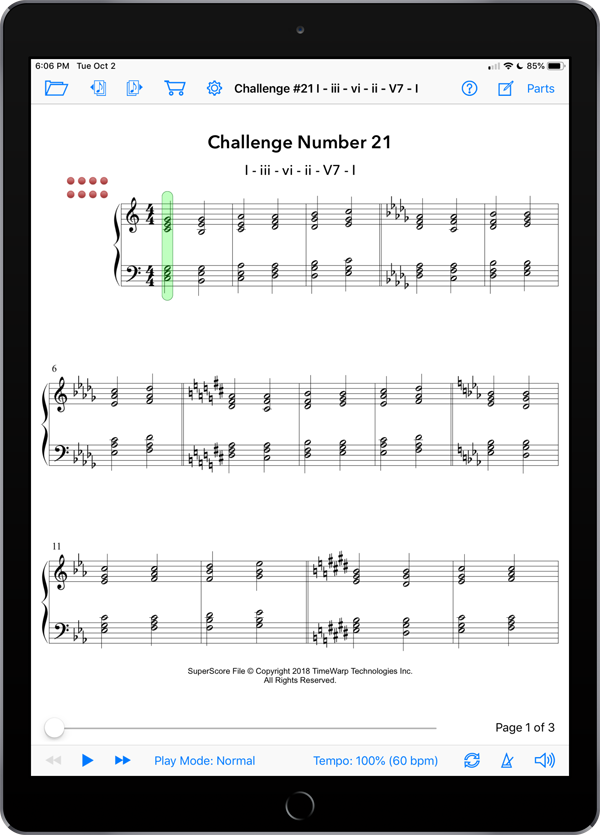 Foundations  Super Score Sample