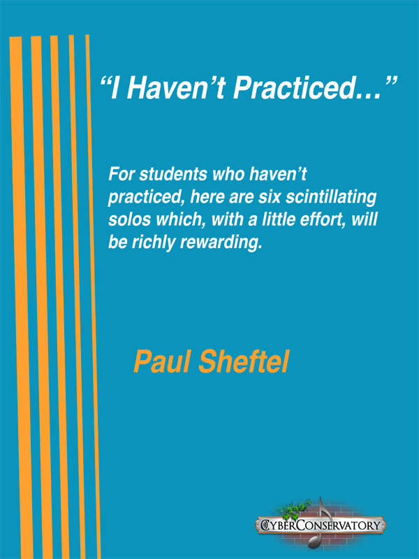I Haven't Practiced... by Paul Sheftel  Cover Art