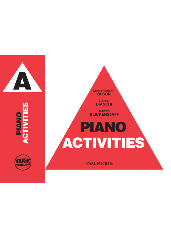 Music Pathways - Piano Activities - Level A-Cover