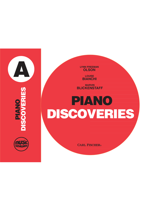 Music Pathways - Piano Discoveries - Level A-Cover