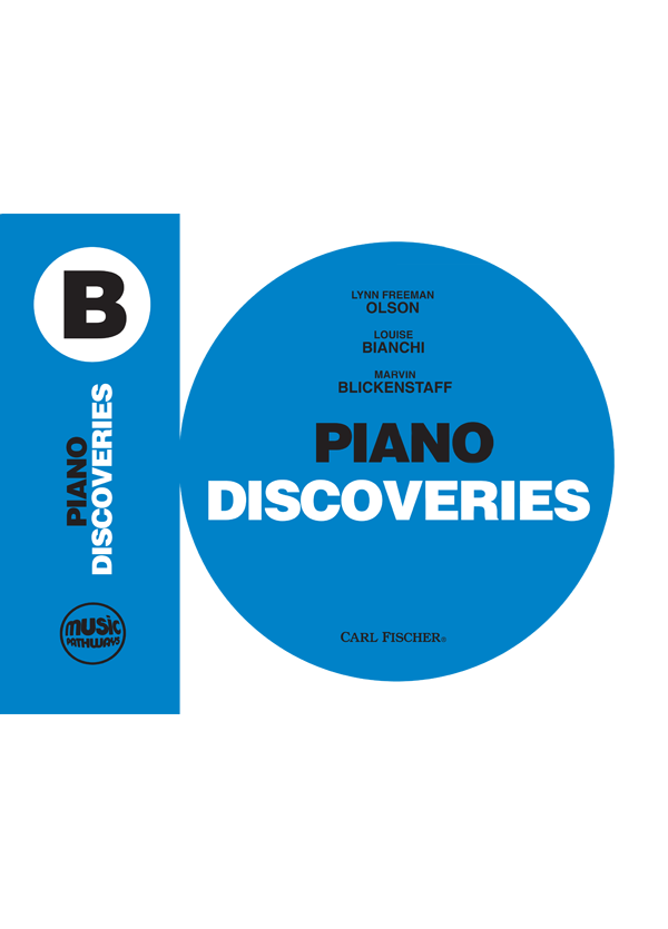 Music Pathways: Piano Discoveries – Level B  Cover Art