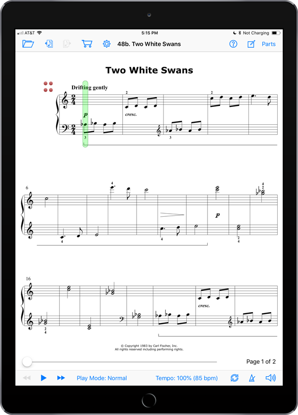 Music Pathways: Piano Discoveries – Level B  Super Score Sample