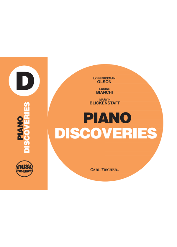 Music Pathways - Piano Discoveries - Level D-Cover