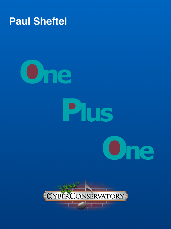 One Plus One by Paul Sheftel  Cover Art