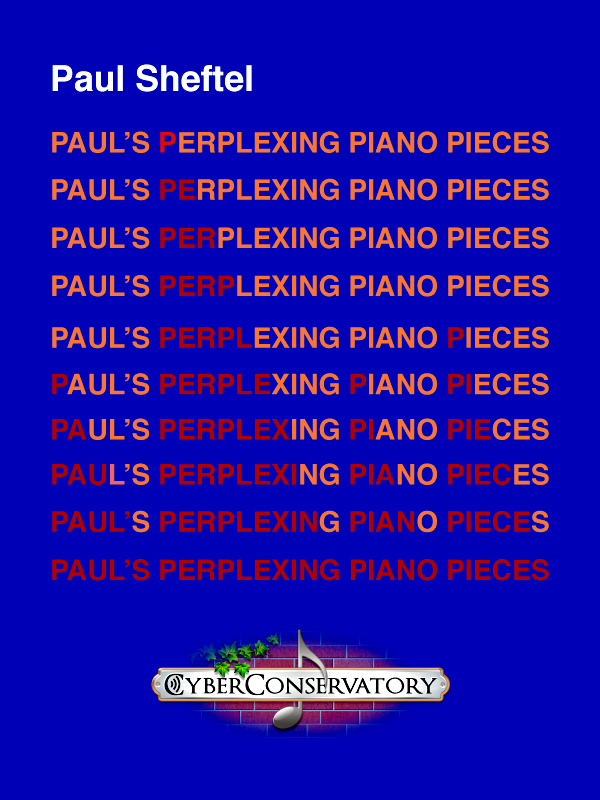 Paul's Perplexing Piano Pieces-Cover