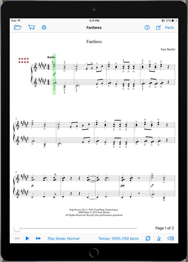 Paul's Perplexing Piano Pieces by Paul Sheftel  Super Score Sample