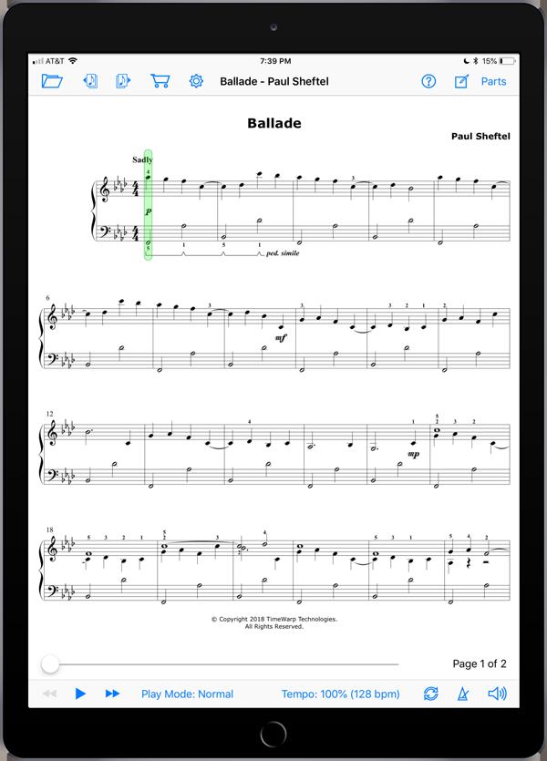 Preludes, Interludes, and a Postlude by Paul Sheftel  Super Score Sample