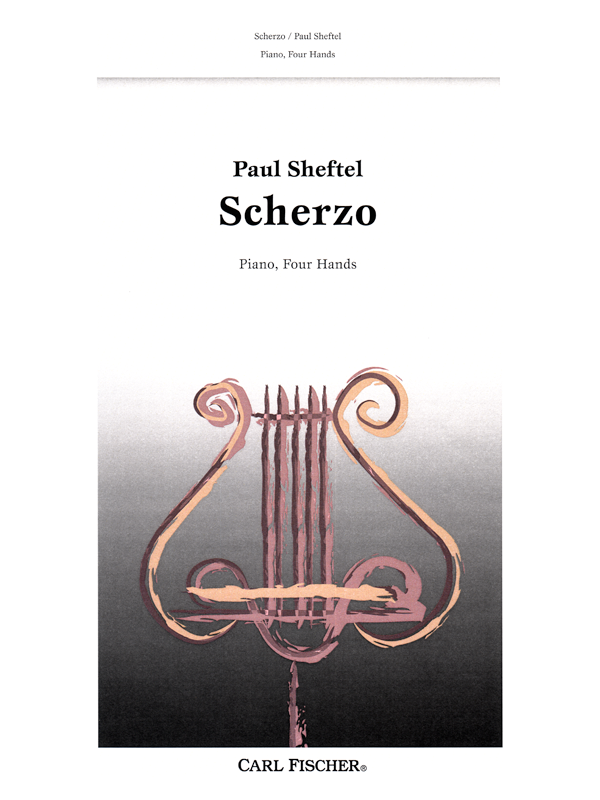Scherzo for Piano Four Hands by Paul Sheftel - CyberConservatory